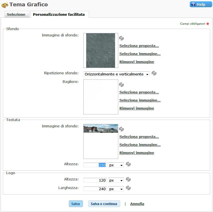 Tema Grafico Sito Web Template Bootstrap Tema grafico Web Responsive