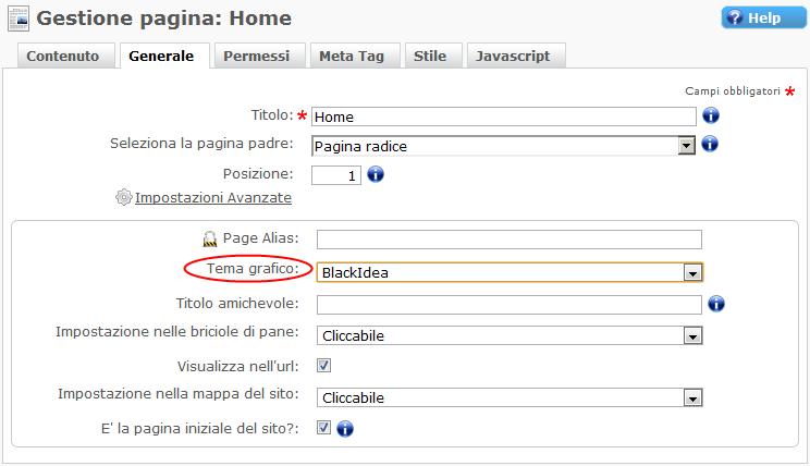 Tema Grafico, Miglior CMS italiano in AspNet e Bootstrap, Crea Sito Web